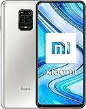xiaomi redmi note 9 pro smartphone - 6.67 dotdisplay 6gb 128gb 64mp ai quad camera 5020mah (typ)* nfc bianco [versione globale]
