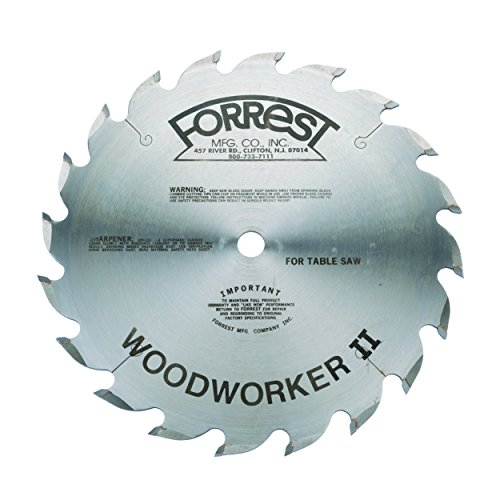 "Forrest 10"" x 20T Woodworker II"