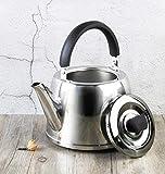 CHUJIAN Hervidor de acero inoxidable, suministros de cocina, simple, resistente...