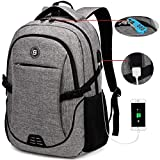 SOLDIERKNIFE Durable Waterproof Anti Theft Laptop Backpack Travel Backpacks Bookbag with usb...