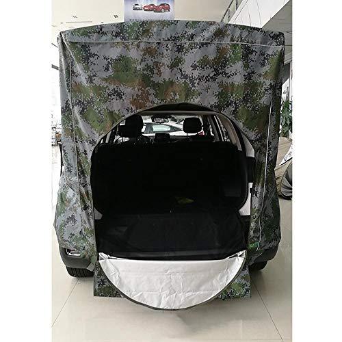XTBB Dachzelt für Auto, Dach hinten, Ausrüstung im Freien, Camping, Zelt, Vorzelt mit Schwanz, Picknick für Volkswagen Skoda, Mazda, Honda, Toyota, Nostandbar