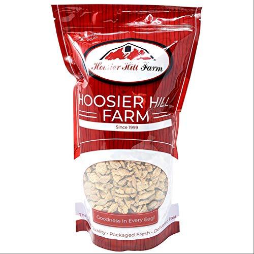 Textured Vegetable Protein (1kg) Plain Chicken-Free TVP Strips Vegetarian Meat Substitute by Hoosier Hill Farm