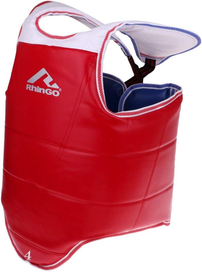 SM SunniMix 1 Piece Lightweight Durable Guard Long Beach Mall Taekwondo Low price Ch Chest