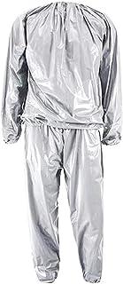 サウナスーツ ダイエットウェア インナーサウナスーツ 減量ウェア 超発汗 上下セット 運動着 撥水素材 ランニングやお風呂で最適