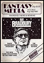 FANTASY MEDIA - Volume 2, number 3 - August September 1980