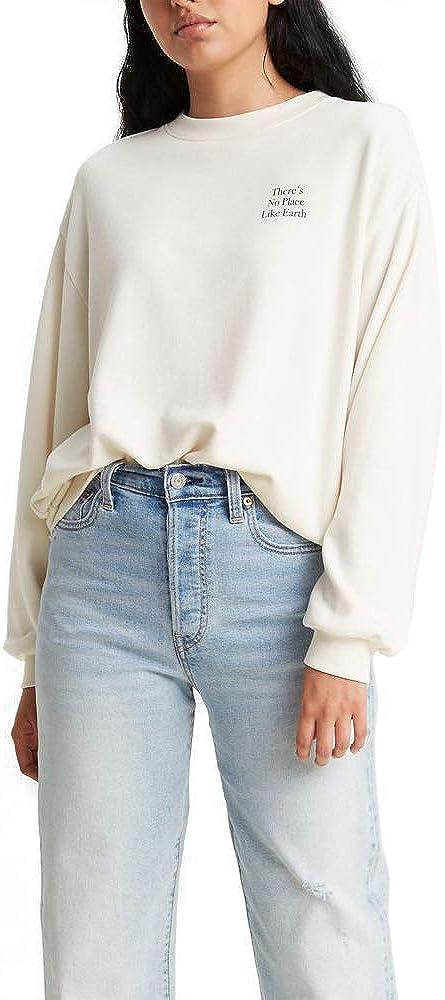 Levi's Women's Graphic Frontier Slouchy Crewneck Sweatshirt