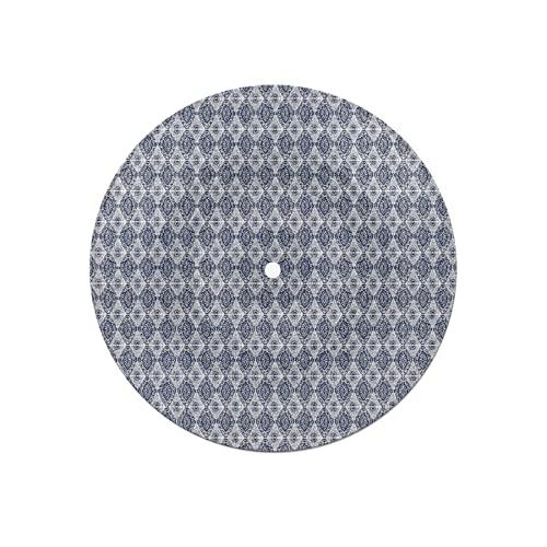 Posavasos de Disco para Bebidas,diseño Abstracto de Efecto Tie Dye Ikat Shibori en Moda Bohemia,Absorbente 6 Posavasos de Disco de protección efectiva para Escritorio