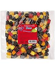 Red Band Duos, Gominolas de Fruta y Regaliz, Bolsa de 500 g