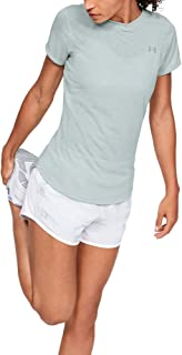 Under Armour 安德玛 女式 UA Streaker 2.0短袖健身T恤,紧身凉爽透气跑步服