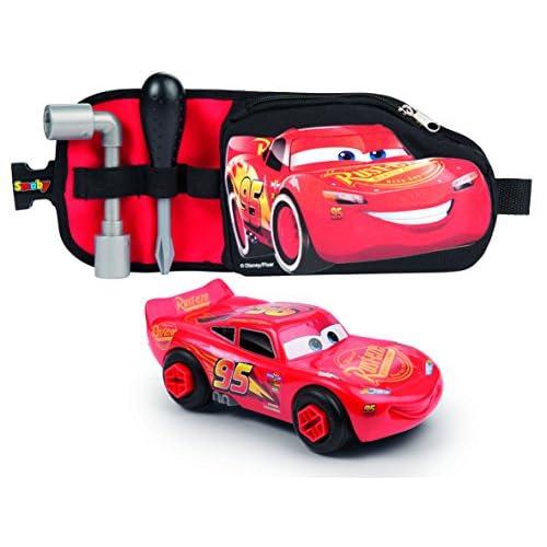 Smoby- Cars 3 Cintura degli Attrezzi, 7600360150