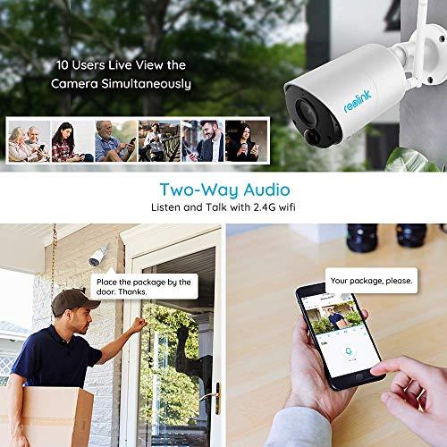 Caméra de surveillance Reolink Argus Eco 2