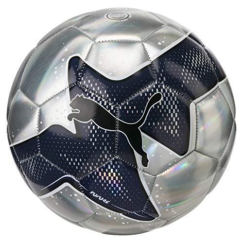 Puma Future Pulse Ball Fußball, Silver/Peacoat Black, 5