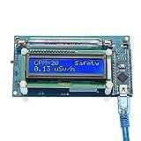 BliliDIY Detector De Radiación De Contador De Código Abierto Geiger Módulo De Bricolaje con Pantalla LCD Detector De Tubo Miller Gm Radiación
