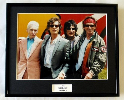 EC The Rolling Stones/Gerahmtes Foto (1)