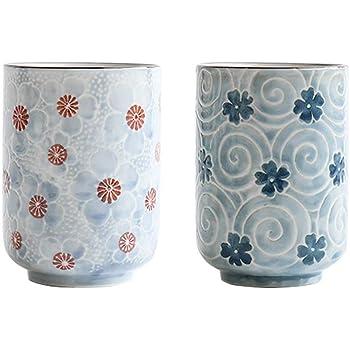 MengCat Tasses à thé japonaises Tasse de Tasse en céramique
