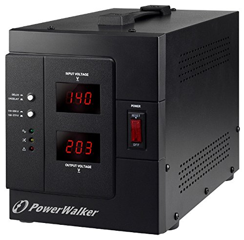 BlueWalker PowerWalker AVR 3000/SIV Régulateur de Tension Automatique Schuko 3000 VA/2400 W