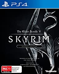 Region Free Australia 100% Compatible With USA Playstation 4 Console Work Exactly the Same As Local USA COPY Winner of more than 200 Game of the Year Awards, Skyrim Special Edition brings the epic fantasy to life in stunning detail. The Special Editi...