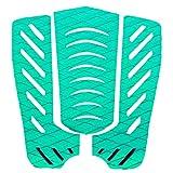 FLAMEER 1 Juego De 3 Piezas Antideslizantes Tablas De Surf Traction Tail Pads Surfing Surf Deck Grips - Verde