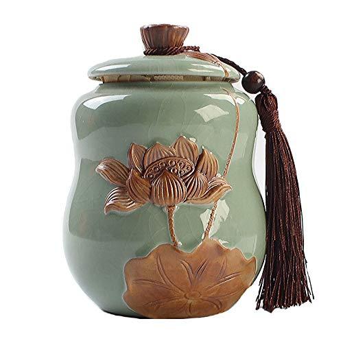QAS Tetera de cerámica sellada Caja de Regalo de cerámica sellada Gran Horno GE Ice Tetera Agrietada