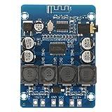 Durlclth Digital Amplifier-TPA3118 30W + 30W Placa de Amplificador estéreo Digital Bluetooth de Doble Canal 8-26VDC