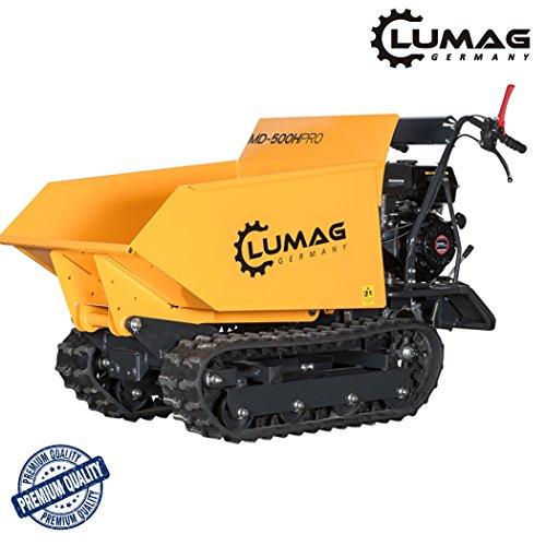 LUMAG Miniraupendumper Motorschubkarre MD500H PRO Benzin Motor ***NEU***