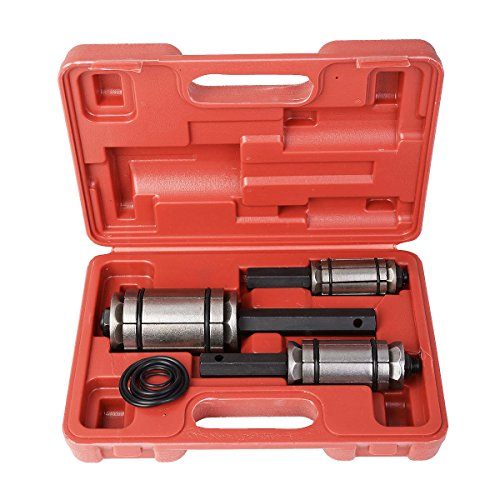 New 3 PC MUFFLER TAIL AND EXHAUST PIPE EXPANDER 1 1/8' to 3 1/2' TOOL SET w/Case