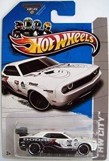 2013 Hot Wheels Hw City Treasure Hunt - Dodge Challenger Drift Car [27/250] by Mattel