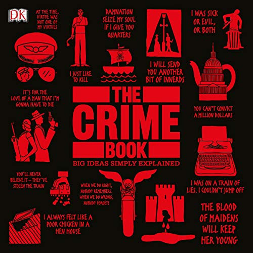 The Crime Book Audiobook By DK cover art