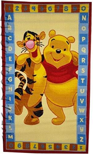 ABC Tappeti Tapis Winnie The Pooh 80 X 140 cm Marron
