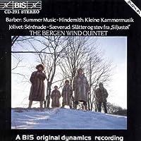 Barber: Summer Music/ Saeverud: Slatter/ Jolivet: Serenade Hindemith Kleine Kammermusik by Bergen Wind Quintet (1994-03-25)
