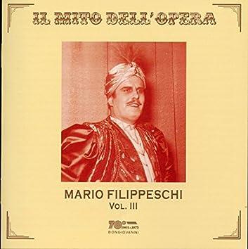 Il mito dell'opera: Mario Filippeschi, Vol. 3 (Live)