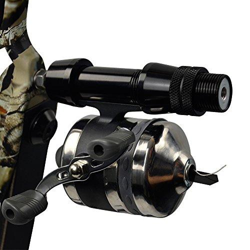 Sportsmann - Carrete de Pesca de Bolos para Pesca de Capullo de Aluminio para Caza de Peces