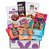 High Protein Cookies Variety Pack : 10 High Protein Cookies Individually Wrapped - Perfect Healthy Cookies Sampler Cookies Gift Box