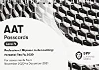 AAT Personal Tax FA2020: Passcards