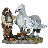 Harry Potter pueblo by D56, Figura Hagrid y Buckbeak para coleccionar, Enesco