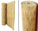 bambus-discount.com Schilfrohrmatte Premium, 120 x 600cm - Sichtschutzmatten Schilfmatten -