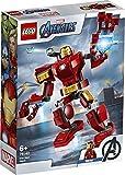 wow Lego® Marvel Super Heroes Los Vengadores Iron Man-Mech, a partir de 6 años