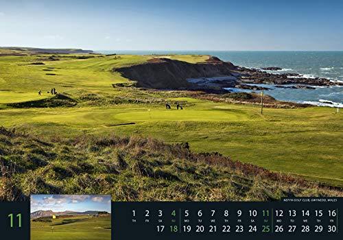 Golf 2018 – Sportkalender / Golfkalender international (49 x 34) - 12