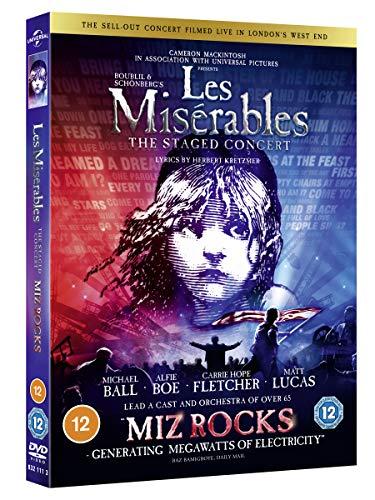 Les Misérables: The Staged Concert [DVD] [2019]