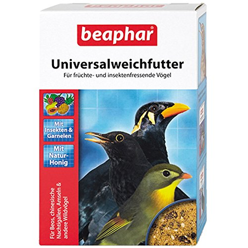 Universalweichfutter | Futter für früchte- & insektenfressende Vögel | Überwinterungshilfe für Wildvögel| Mit wichtigen Nährstoffen | Mit Früchten & Natur Honig | 1kg