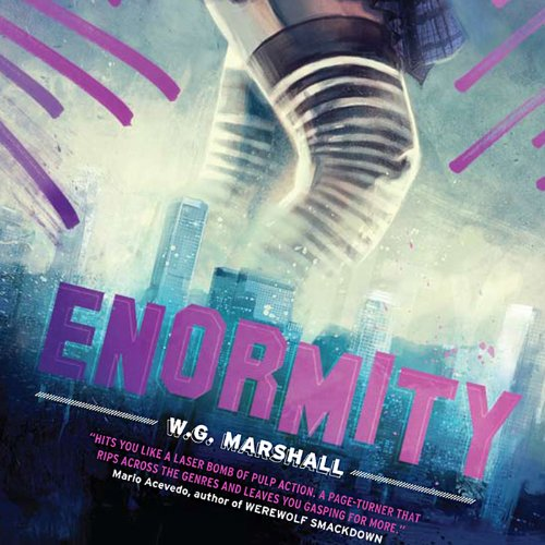 Enormity audiobook cover art