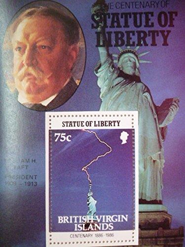 英領バージン諸島『自由の女神100周年/アメリカ歴代大統領』(タフト)