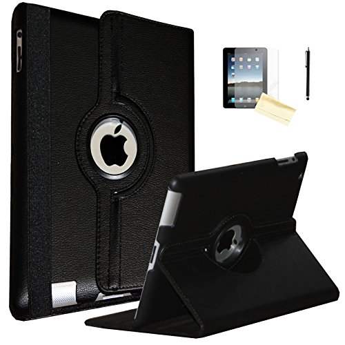 JYtrend iPad Air Case, (R) Rotating Stand Smart Case Cover Magnetic...