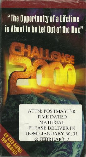 CHALLENGE 2000, the opportunity of a lifetime is about to be let out of the box