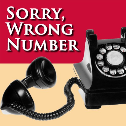 Sorry, Wrong Number audiobook cover art