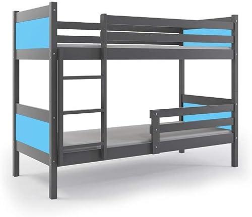 hermoso Interbeds LITERA Infantil 200X90 Rino con SOMIERES SOMIERES SOMIERES Y COLCHONES Gratis  gris (LOS Paneles (azul Claro)  autentico en linea