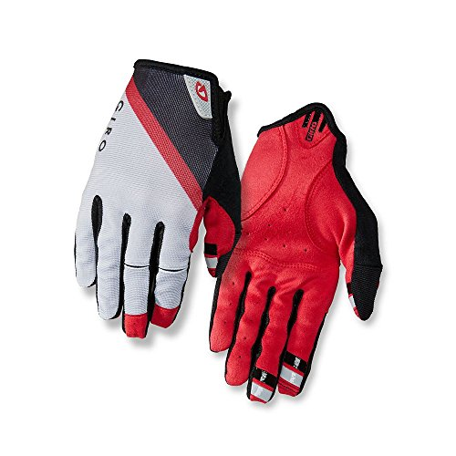 Giro DND Fahrradhandschuhe rot/schwarz Handschuh Größe S 2018 Vollfinger Fahrradhandschuhe