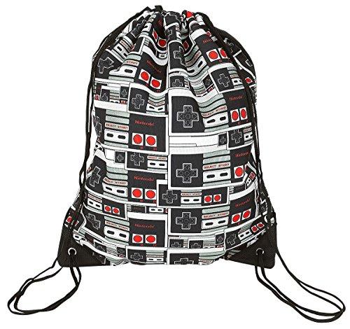 Nintendo Turnbeutel - Controller Logo - schwarz