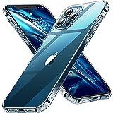 CASEKOO Crystal Clear für iPhone 12 Pro Max Hülle, [Nie Vergilbung] [Unzerstörbarer...
