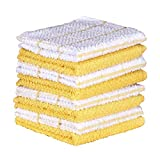 AMOUR INFINI Cotton Terry Kitchen Dish Cloths | Set of...